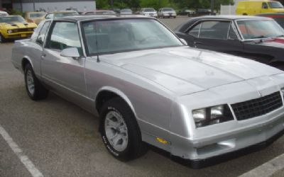 1988 Chevrolet Sorry Just Sold!!! Monte Carlo SS