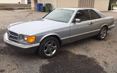 1983 Mercedes-Benz 380 SEC 2 DR. Coupe