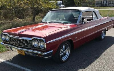1964 Chevrolet Impala SS 409 Convertible - Sold!