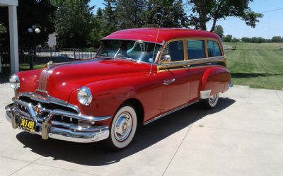 1952 Pontiac Chieftain TIN Woody
