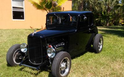 1932 Ford Coupe Henry Steel