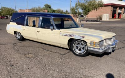 1974 Cadillac Fleetwood Hearse - Sold!