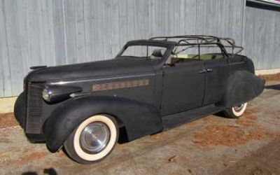 1937 Buick Four Door Kustom Project