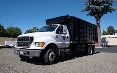 2002 Ford F650-Super-Duty-Dump-Truck
